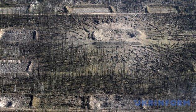Поблизу Калинівки піротехнікам залишається обстежити 76 га