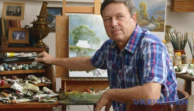 """Відомий франківський художник зізнався, як """"контрабандою"""" возив картини у США"""