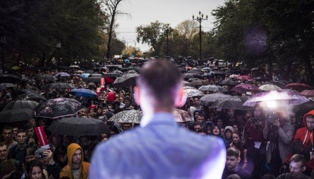 Навальний анонсував на 7 жовтня протести по всій Росії