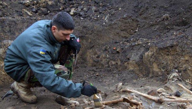Des restes d'Ukrainiens, fusillés pas les nazis ont été retrouvés dans la région de Ternopil (photos)