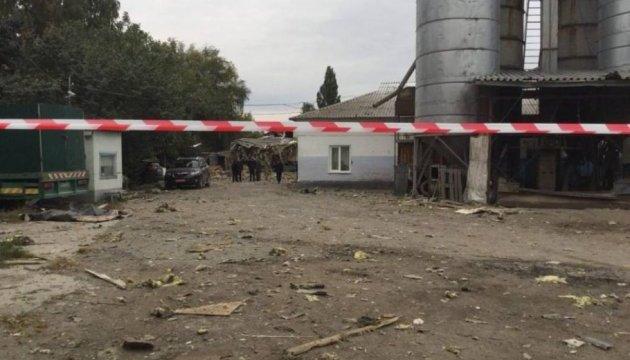 В Сумах на предприятии произошел мощный взрыв, есть пострадавшие