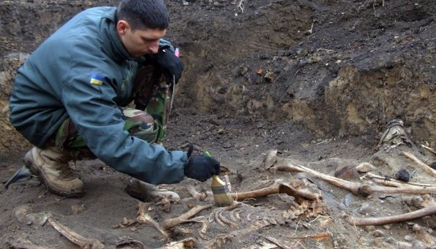Remains of over 50 Ukrainians shot by Nazis found in Ternopil region
