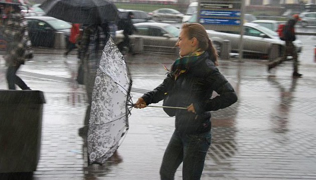 Strong wind expected in Ukraine on Friday
