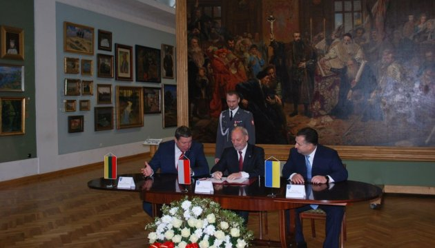 Украина, Польша и Литва подписали соглашение о ЛитПолУкрбриге