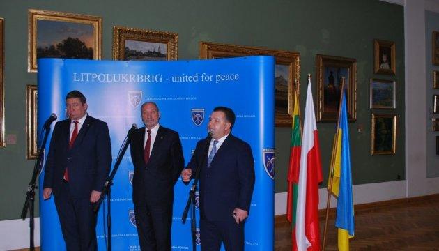Ukraine, Poland and Lithuania sign agreement on LitPolUkrbrig military brigade