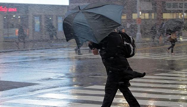 Україну накрив циклон: сніг, дощ і сильний вітер