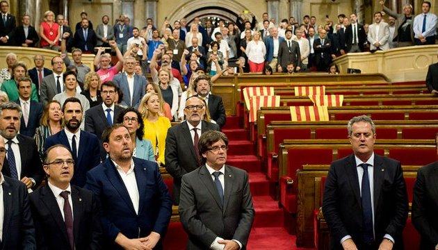 Парламент Каталонії попри заборону збереться на дебати про незалежність