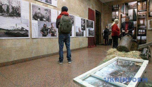 У Києві відкрили фотовиставку про боротьбу УПА й бійців АТО