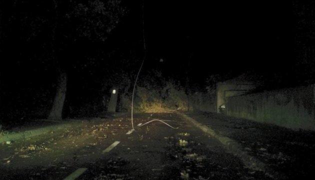 Во Львовской области ночной ураган валил деревья и срывал крыши