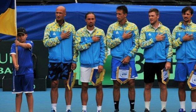 Українські тенісисти проведуть матч зі Швецією у новому форматі