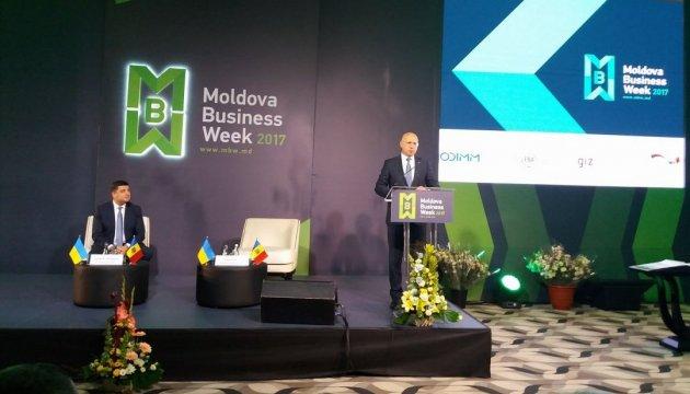 Обсяг торгівлі між Україною та Молдовою зріс на 30% - прем'єр Філіп