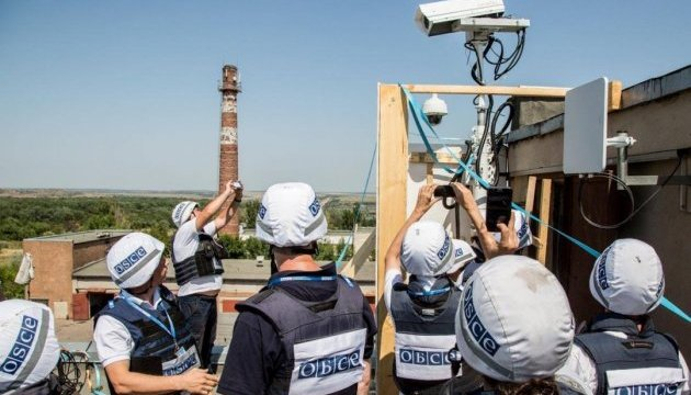 OSCE records 80 explosions in Donbas over weekend