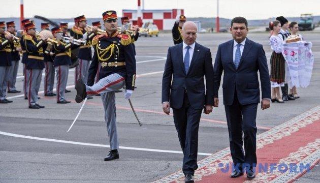 Майбутнє України і Молдови лежить у європейській площині — Гройсман