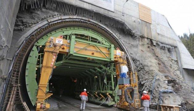 В Карпатах достроили Бескидский тоннель