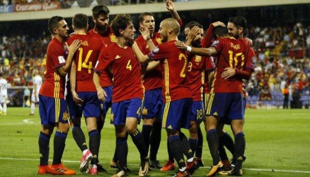 Испания пробилась на ЧМ-2018