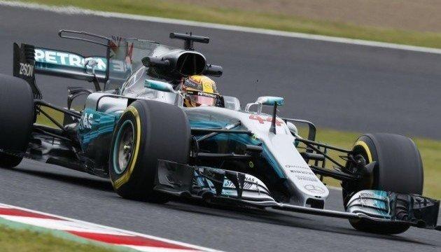 Формула-1: Хэмилтон выиграл квалификацию Гран-при Японии