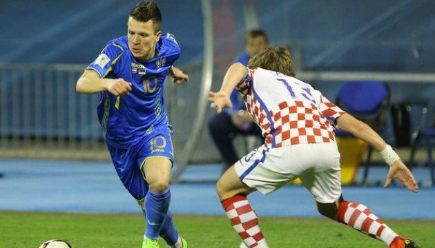 Футбол: Букмекери ставлять на Хорватію у київському матчі з Україною