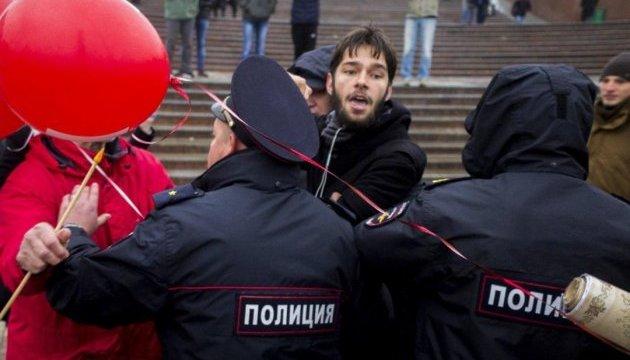 В московский штаб Навального пришли прокремлевские