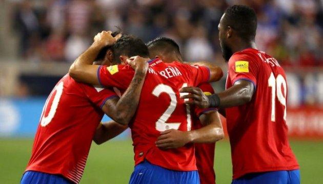 Коста-Рика завоевала путевку на ЧМ-2018