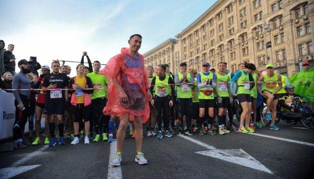 У Києві міжнародний марафон - які вулиці перекрили