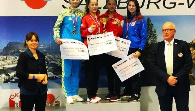 """Українська каратистка """"взяла"""" срібло на турнірі в Австрії"""
