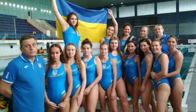 Українські ватерполістки зіграють із сербками у плей-офф Євро-2018