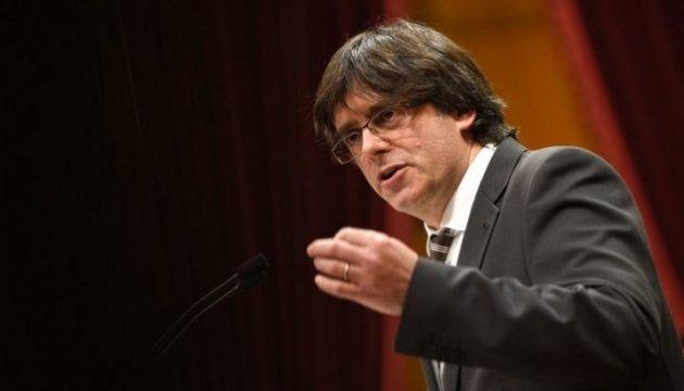 Іспанські прокурори хочуть арешту Пучдемона в Женеві