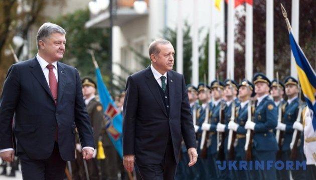 Эрдоган считает Украину ключевой в вопросе безопасности и мире в регионе