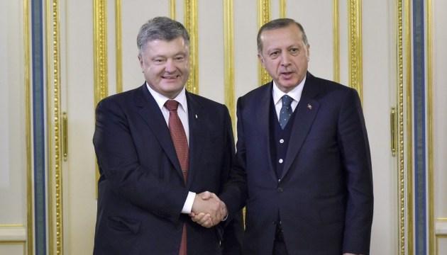Порошенко пропонує Туреччині збільшити представництво у місії ОБСЄ