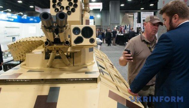 """AUSA-2017: Украина представила новый беспилотный """"Фантом-2"""" в Вашингтоне"""