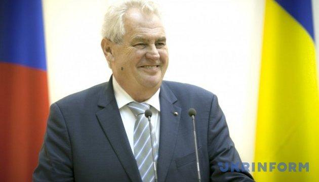 Земана переобрали президентом Чехії - попередні результати