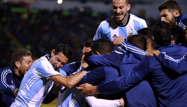 Уругвай, Аргентина і Колумбія вийшли на чемпіонат світу з футболу