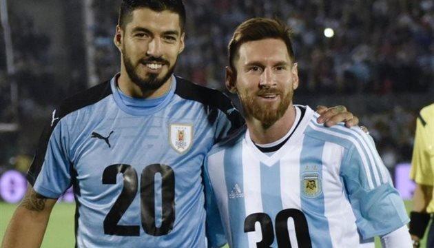 Суарес і Мессі - кращі в історії відборів чемпіонату світу в Південній Амеріці