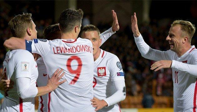 Левандовські - кращий бомбардир європейського відбору чемпіонату світу-2018