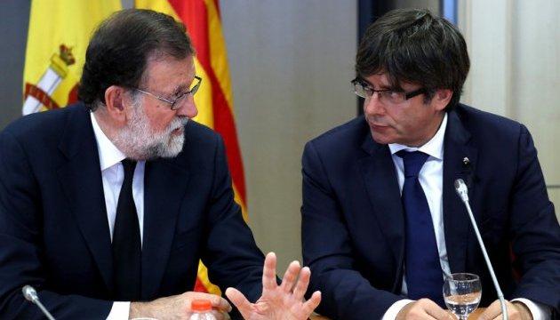 Мадрид дав Каталонії 5 днів на