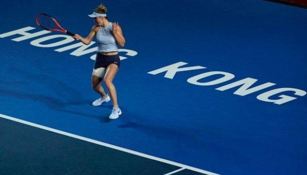 Світоліна достроково зачохлила ракетку  на турнірі WTA в Гонконгу
