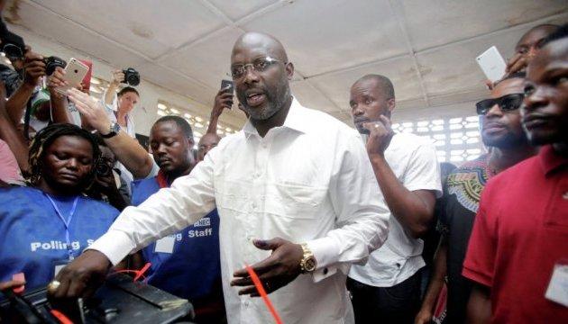 Кращий футболіст Європи-1995 Джордж Веа став президентом Ліберії