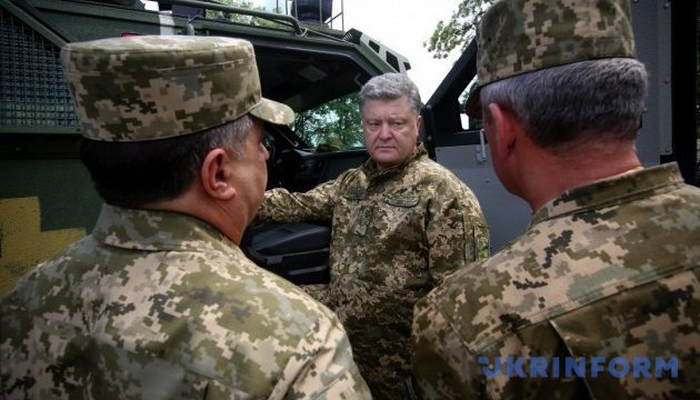 Ukrainian army to get 62 tanks on Oct 14 - Poroshenko