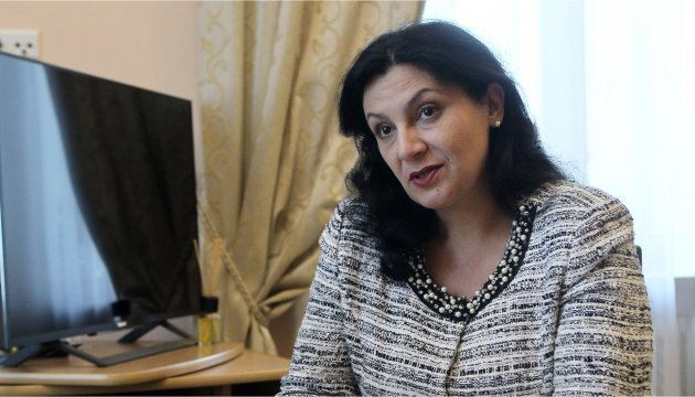 Vice PM Klympush-Tsintsadze to discuss resumption of EU's macro-financial assistance to Ukraine in Brussels