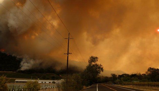 Пожежі в Каліфорнії знищили листування засновників Кремнієвої долини