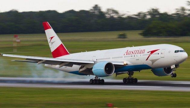 Austrian Airlines запустит 25 зимних рейсов в Украину