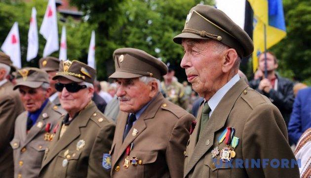 Почти половина украинцев поддерживают признание воинов УПА