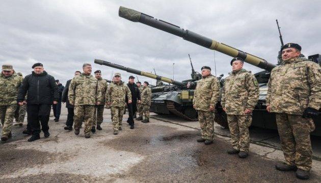 До конца года войска получат более тысячи единиц оружия и техники