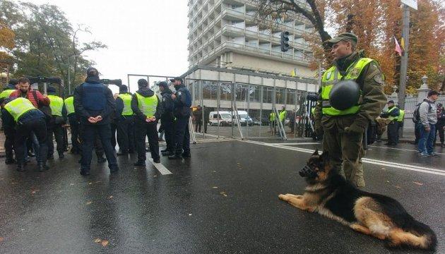 Kiew: Polizei kontrolliert Situation in Stadtzentrum