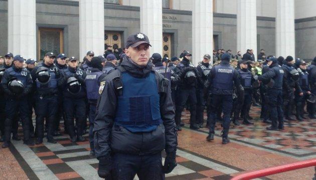 В МВД утверждают, что ситуация в центре Киева под контролем
