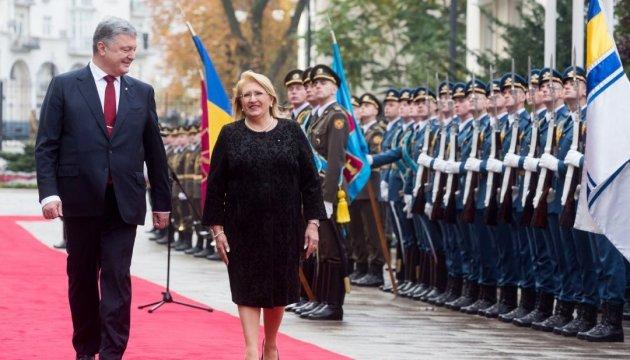 Ukrainischer Präsident und Präsidentin von Malta besuchen das Business-Forum in Kiew