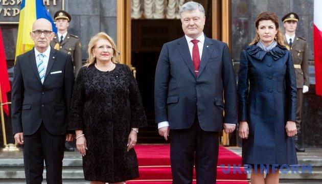 Порошенко: Мальта для украинского бизнеса является воротами на рынок Северной Африки