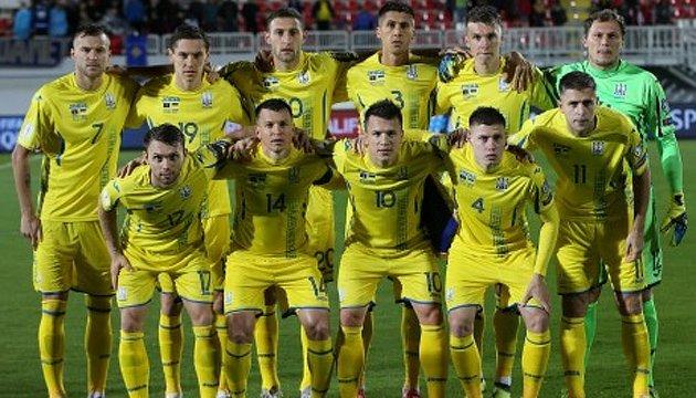 Футбол: сборная Украины проведет товарищеский матч со Словакией