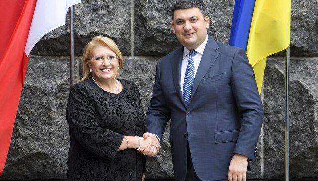 Groysman calls for strengthening economic cooperation between Ukraine and Malta
