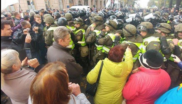 Полиция открыла дело из-за столкновения под Радой